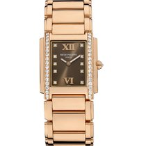 Patek Philippe TWENTY-4 Medium Rose Gold with Diamonds