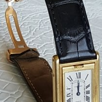 Cartier Reverso Vintage Manual Winding Yellow Gold A 106878