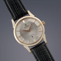 Omega Constellation 'Pie-Pan' gold capped automatic watch