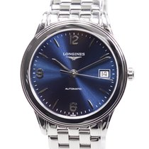 Longines Flagship Stainless Steel Blue Automatic L4.774.4.96.6