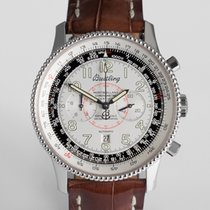 "Breitling Montbrillant Chronograph White Gold - ""One of..."
