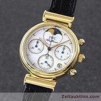 IWC Lady 18k (0,750) Gold Da Vinci Mondphase Chronograph...