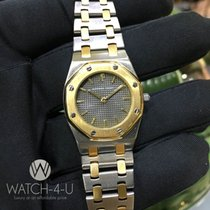 Audemars Piguet Royal Oak Lady 28mm 18k Gold/SS Grey Dial, Rare