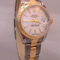 Rolex Ladies Datejust 18k Y Gold & Ss Oyster Y Serial...