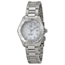 TAG Heuer Aquaracer Mother of Pearl Dial Ladies Watch WAY1413....