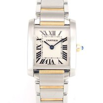 Cartier Tank Française Rose Gold and Steel 2384