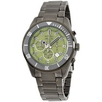 Bulova Marine Star Green Dial Stainless Steel Men's Watch...