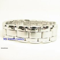 Rolex Aftermarket 18k White Gold Pearlmaster band for Mens Rolex
