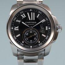 Cartier Calibre de Cartier Stahl schwarz -NEU-