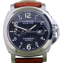 Panerai PAM 164 Luminor Marina Men's 44mm Stainless Steel...