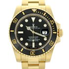 Rolex Submariner Date 116618LN 18ct Yellow Gold