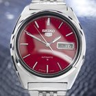 Seiko 5 Stainless Steel Automatic 7009-8330 Watch 70's Jr42
