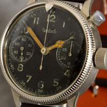 Hanhart aviator's single button chronograph of the German...