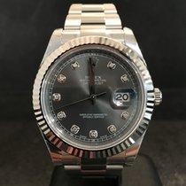 Rolex Datejust II Dark Rhodium Diamond Dial