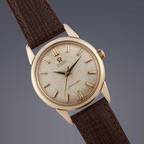 Omega Seamaster 9ct yellow gold automatic watch