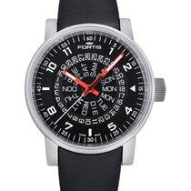 Fortis Cosmonautis Spacematic Counterrotation Auto Swiss Watch...
