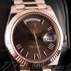 Rolex 18k Everose Gold President Day Date 40 228235 Rose
