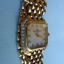 Baume & Mercier Geneve 18 Kt Gold Diamond Watch