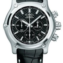 Ebel 1215863 1911 BTR Chronograph Automatic Steel Mens Watch...