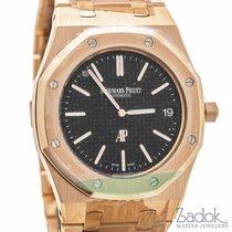 Audemars Piguet Royal Oak Extra-Thin 18K Rose Gold Watch Ref....