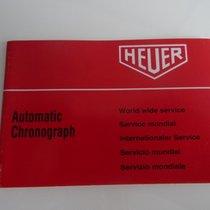 Heuer Automatic Chronograph Vintage Booklet 70iger Jahre