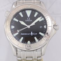 Omega Seamaster 300m America's Cup Weißgold/Stahl limited...