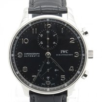 IWC Portuguese Iw371447 Chronograph 40mm Gents Watch W/...