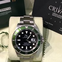 Rolex Submariner Date Ghiera verde 50th Anniversary