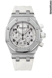 Audemars Piguet OFFSHORE LADY - STAINLESS STEEL - WHITE DIAL