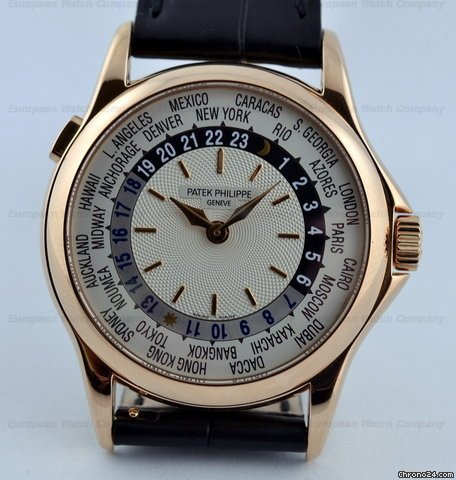 Patek Philippe World Time 18K RG 5110R