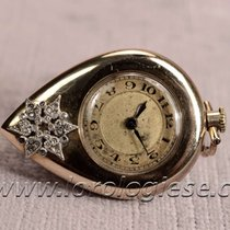 Jaeger-LeCoultre A. Vintage Solid 14.kt. Gold & Diamonds...