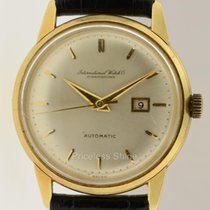IWC Schaffhausen Vintage 18k Yellow Gold Automatic Cal. 8531 36mm