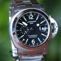 Panerai Pam 297 Luminor Automatic GMT 44 mm on Bracelet: Retail