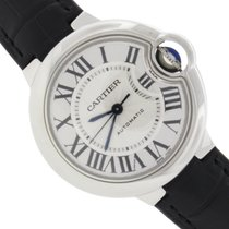 Cartier Ballon Bleu 33MM Automatic Steel Watch W6920085