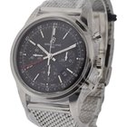 Breitling Transocean Chronograph GMT in Steel