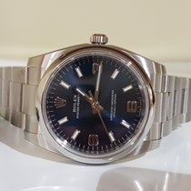 Rolex Oyster Perpetual Air King blue 114200 New - full set