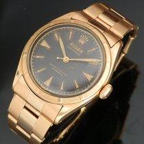 롤렉스 (Rolex) SEMI-BUBBLEBACK Ref.6101 ALL 18K ROSE GOLD GLOSSY...
