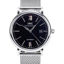IWC Schaffhausen IW356506 Portofino Automatic Black Index...