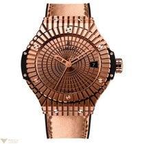 Hublot Big Bang Caviar 18K Red Gold 430 Diamonds Men`s Watch