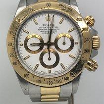 勞力士 (Rolex) DAYTONA ZENITH STEEL/GOLD WHITE DIAL YEAR 1992