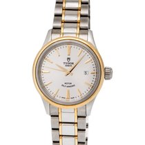 Tudor Style 28mm Steel/18K Yellow Gold Automatic Ladies Watch...