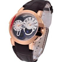 Harry Winston Ocean Collection Biretro Dual time in Rose Gold