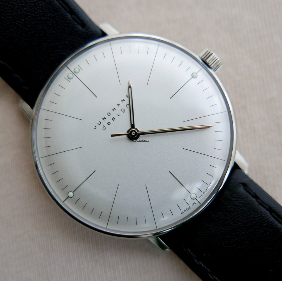 junghans max bill manual for 561 for sale from a trusted seller on chrono24. Black Bedroom Furniture Sets. Home Design Ideas