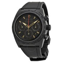 Tudor Blackshield Automatic Chronograph Black Dial Black...