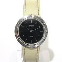 Hermès Clipper black dial stick indexes