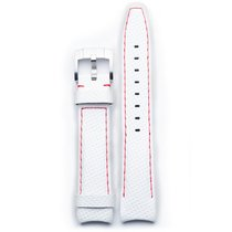Everest Curved End Racing Leather Strap With Tang Buckle -...