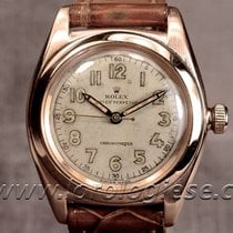 Rolex Bubbleback 14kt. Red Gold Ref. 3131 Chronometer Cal. 9 3/4