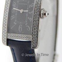 Cartier Tank Americaine 18K White Gold & Diamonds Ladies...