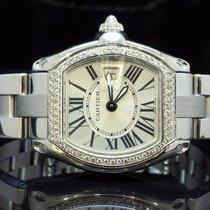Cartier Ladies Roadster, Diamond Set Bezel, Boxed