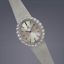 Omega Ladies 18ct white gold&diamond cocktail watch manual